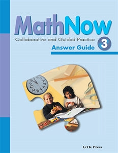 Math Now Grade 3 CGP Answer Guide