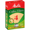 #4 Melitta Cone Filter (Natural Brown) - 100 Count - Coffee Roaster
