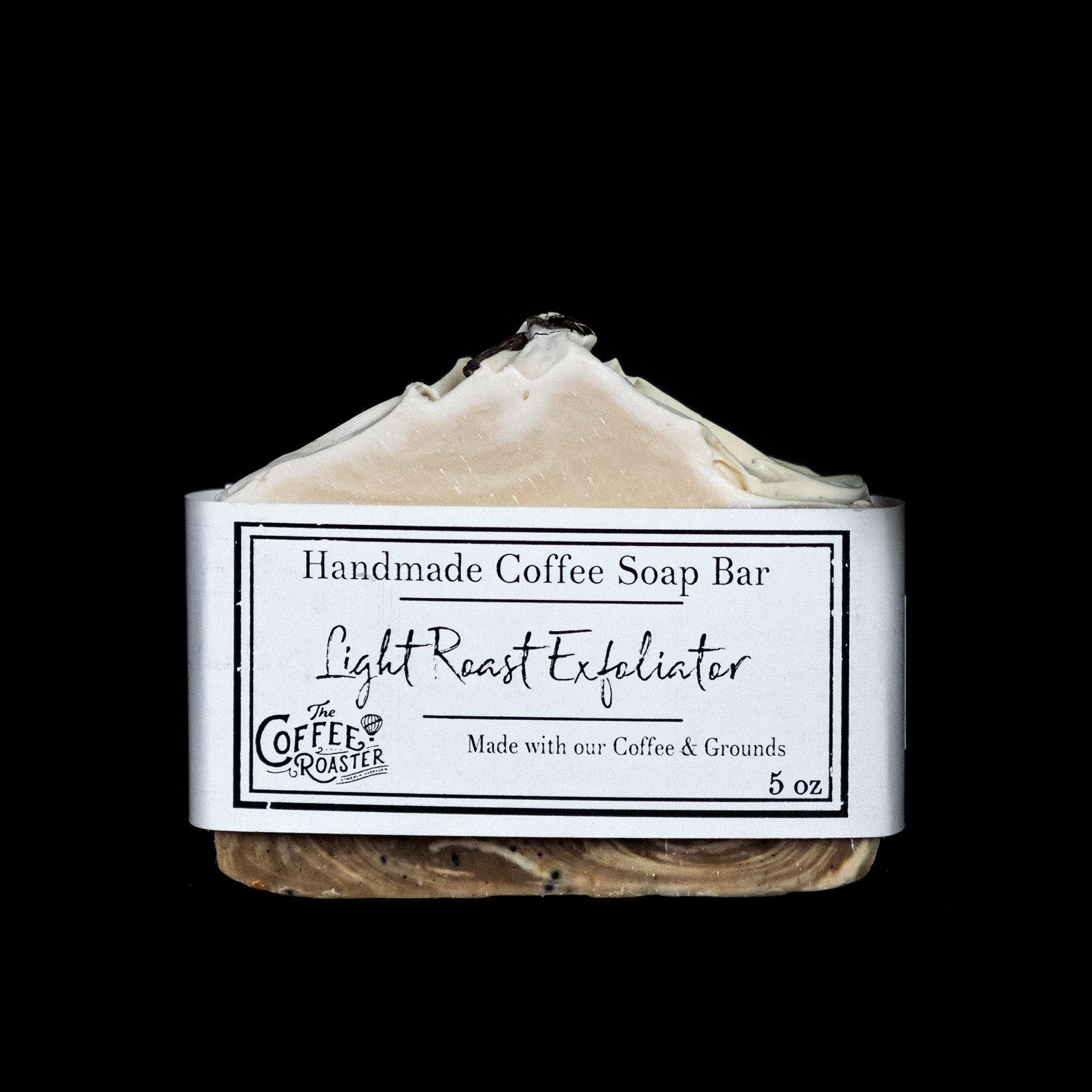 Light Roast Exfoliator Soap - Coffee Roaster