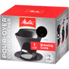 Melitta Black 1-Cup Pour-Over - Coffee Roaster