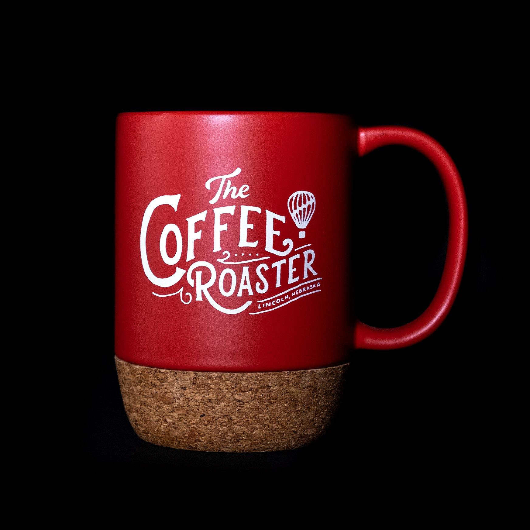 Coffee Roaster Cork Bottom Mug