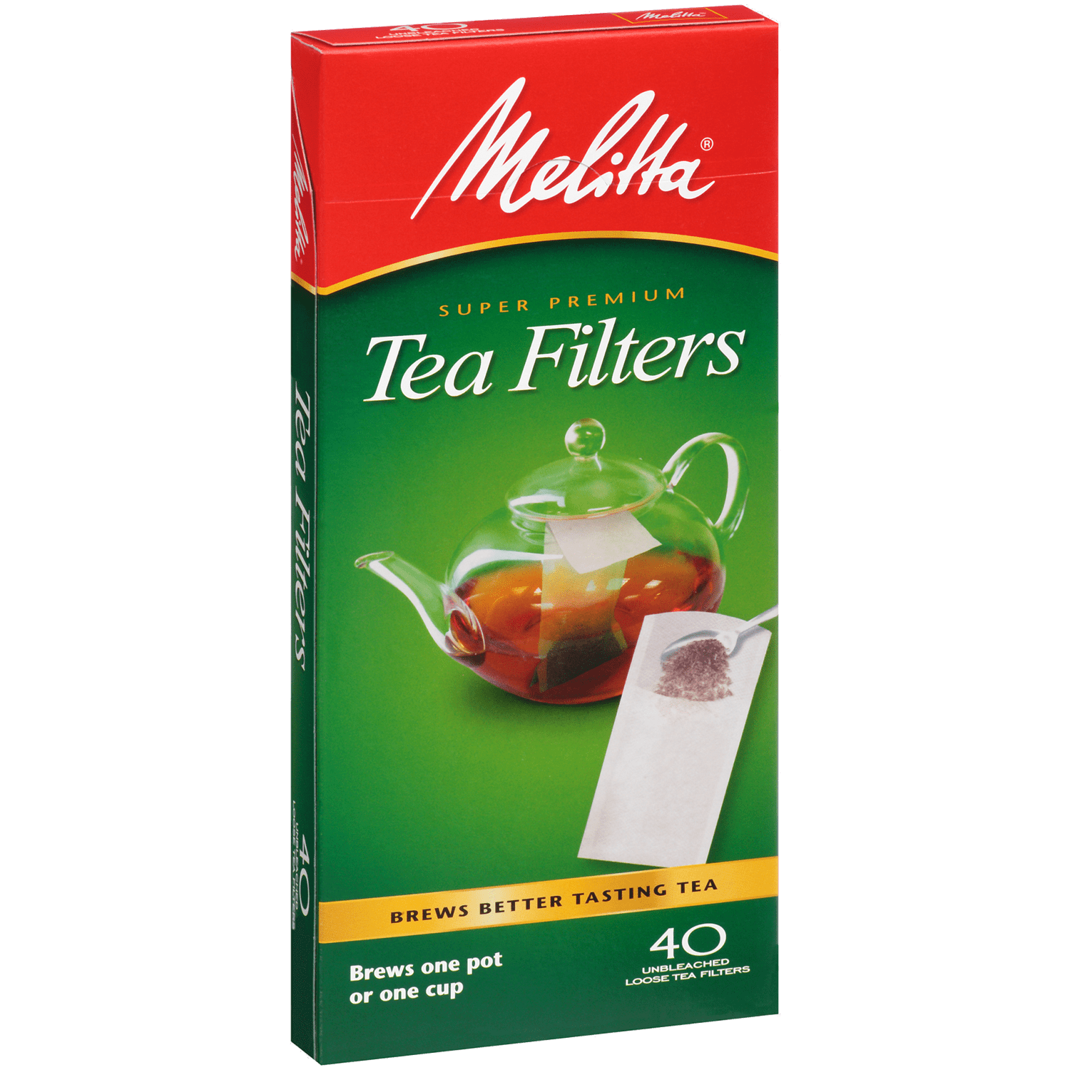 Melitta Tea Filter Paper - 40 Count - Coffee Roaster