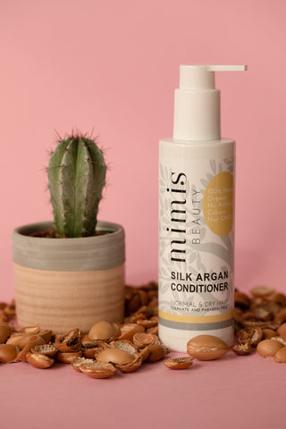 Silk hair conditioner