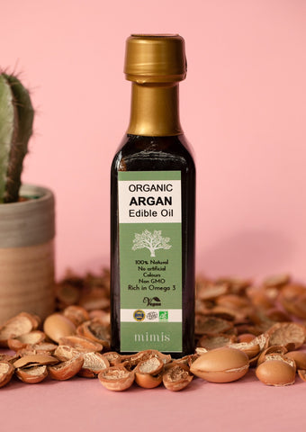 Organic argan edible oil / vegansk Argan Omega 3