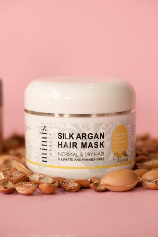 Silk hair mask