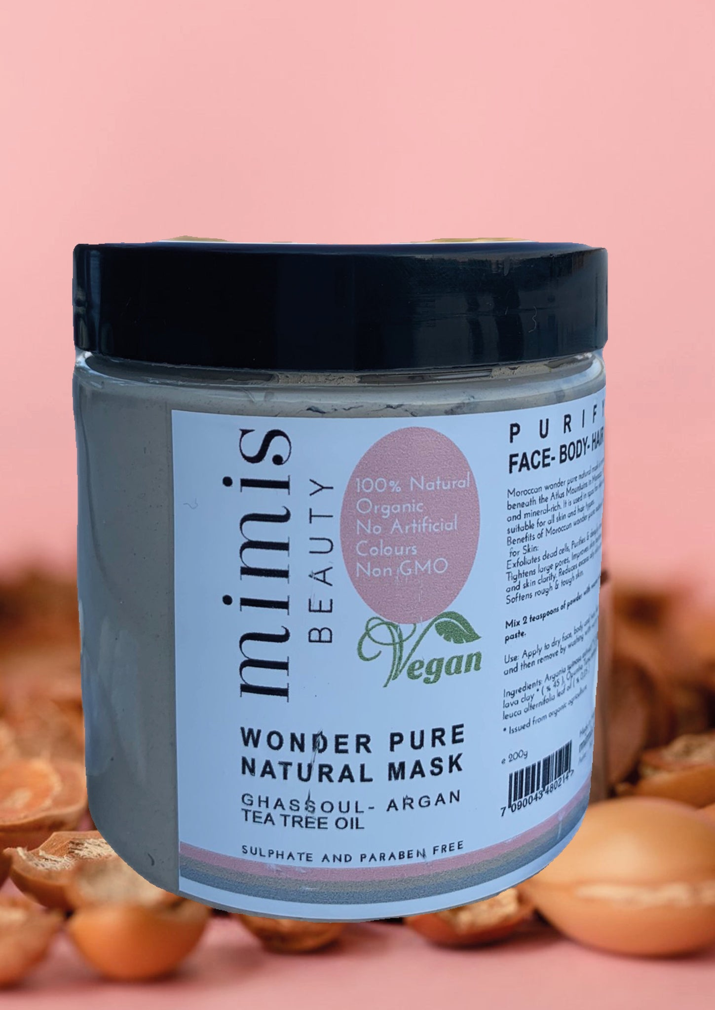 Wonder pure natural mask