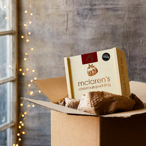 McLaren's Christmas Pudding & Fire-Branded Gift Box