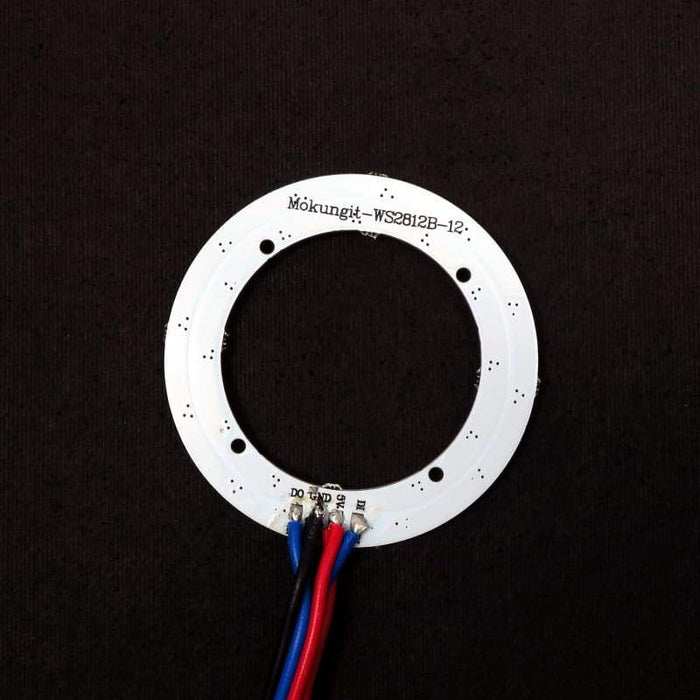 12 LED 52mm Ring - WS2812B 5050 RGB LED with Integrated Drivers (Adafruit Neopixel compatible) - LEDs