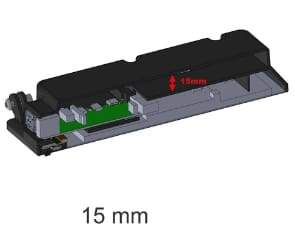 15mm SmartiPi Touch 2 back cover - Raspberry Pi
