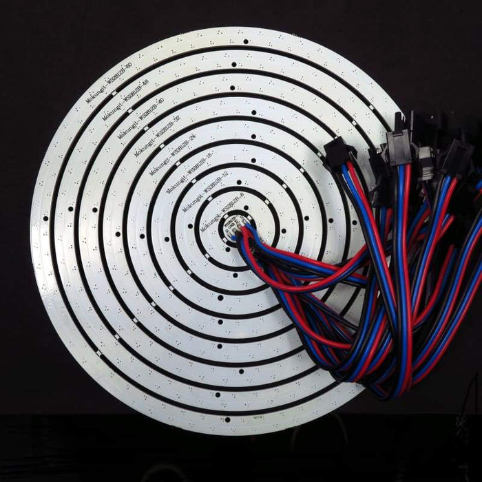 241 LED 172mm Complete Ring - WS2812B 5050 RGB LED with Integrated Drivers (Adafruit Neopixel compatible) - LEDs