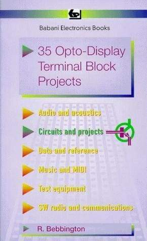 35 Opto-Display Terminal Block Projects - Books