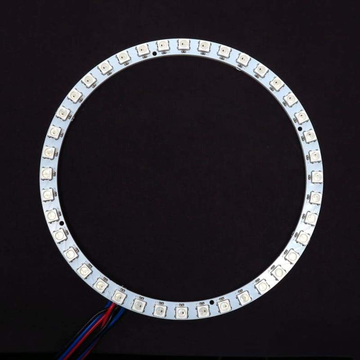 40 LED 132mm Ring - WS2812B 5050 RGB LED with Integrated Drivers (Adafruit Neopixel compatible) - LEDs