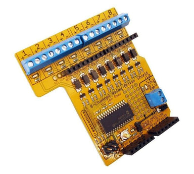 8-Channel Relay Driver Shield For Arduino - Shields
