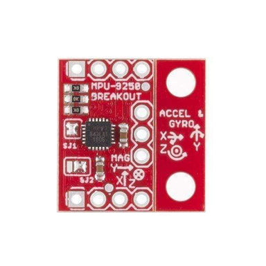 9 Degrees Of Freedom Imu Breakout - Mpu-9250 (Sen-13762) - Acceleration