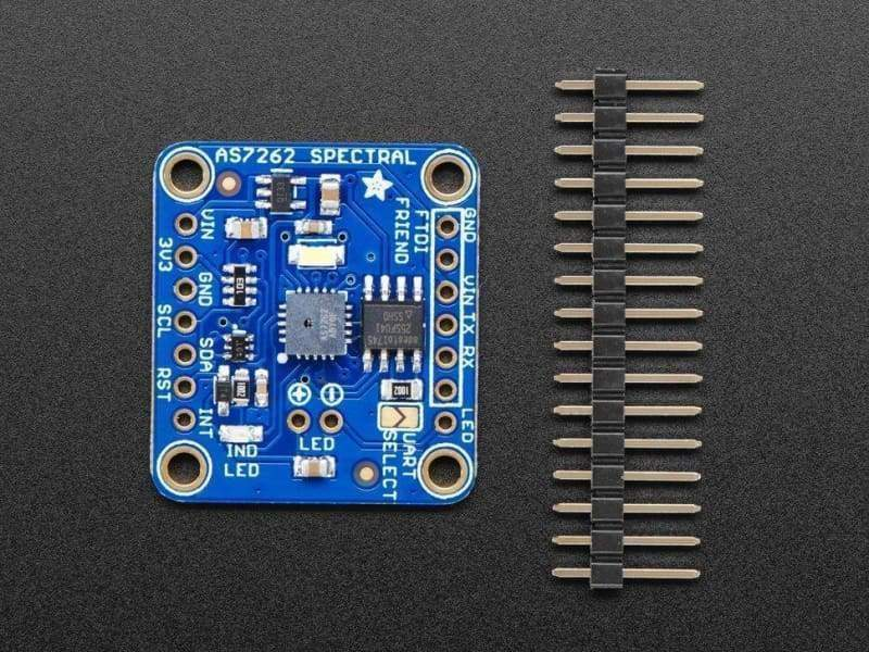 Adafruit As7262 6-Channel Visible Light / Colour Sensor Breakout (Id: 3779) - Visible Light