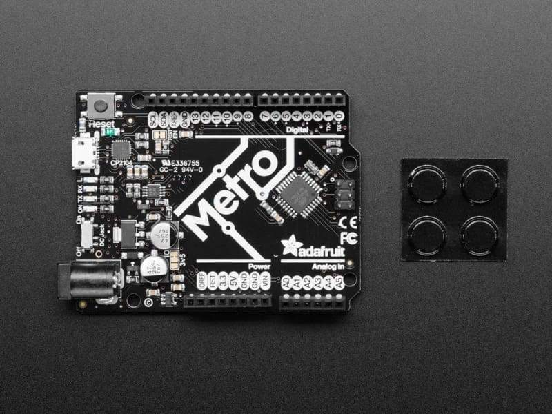 Adafruit Metro 328 With Headers (Atmega328) (Id: 2488) - Dev Boards