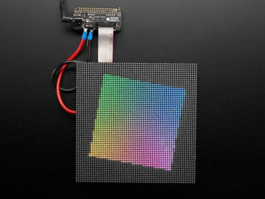 Adafruit Rgb Matrix Bonnet For Raspberry Pi (Id: 3211) - Led Displays