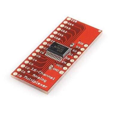 Analog/digital Mux Breakout (Bob-09056) - Active Components