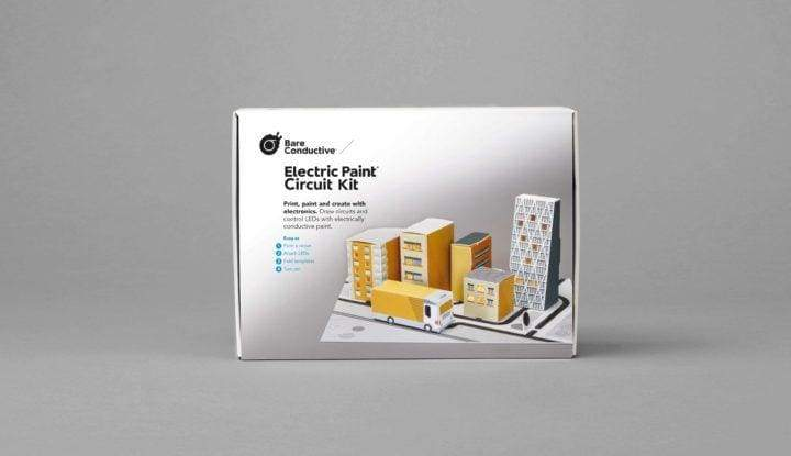 Bare Conductive Electric Paint Circuit Kit - Conductive Ink