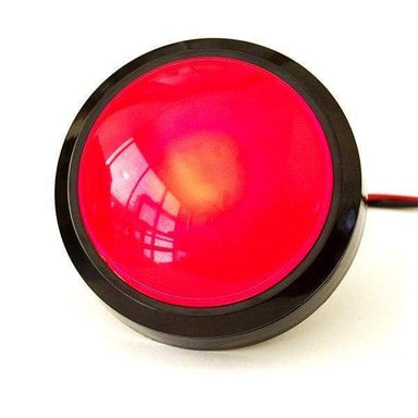 Big Dome Push Button - Red - Buttons