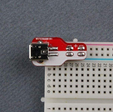 Breadboard Power Plate Usb Kit - Accessories And Breakout Boards
