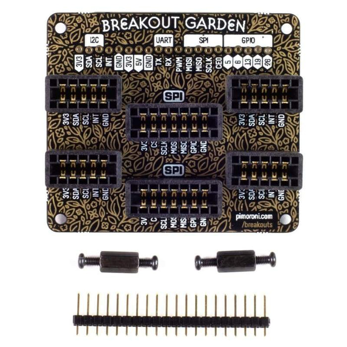 Breakout Garden HAT (I2C + SPI) - Accessories and Breakout Boards