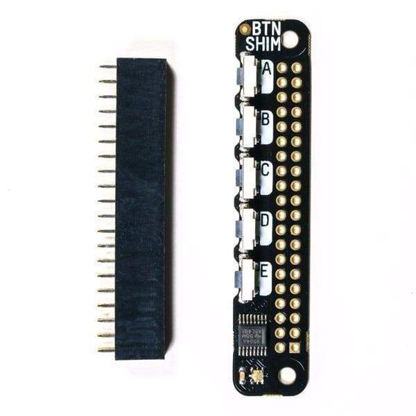 Button Shim For Raspberry Pi (All Models) - Buttons