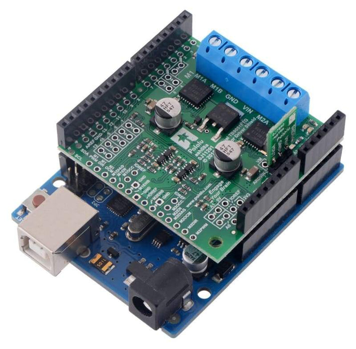Dual Tb9051Ftg Motor Driver Shield For Arduino - Motors