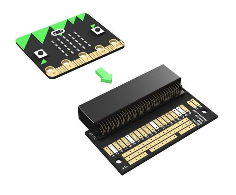 Edge Connector Breakout Board For The Bbc Micro:bit - Other