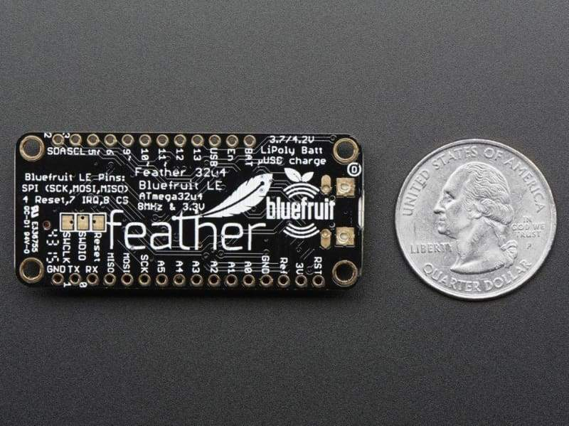 Feather 32U4 Bluefruit Le (Id: 2829) - Bluetooth