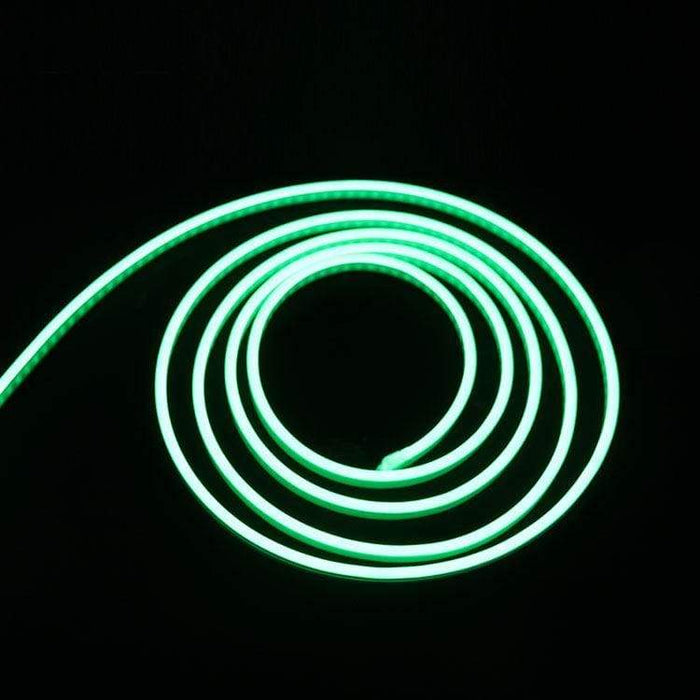 Flexible Silicone Neon-Like LED Strip - 1 Meter - Ice Blue - LEDs