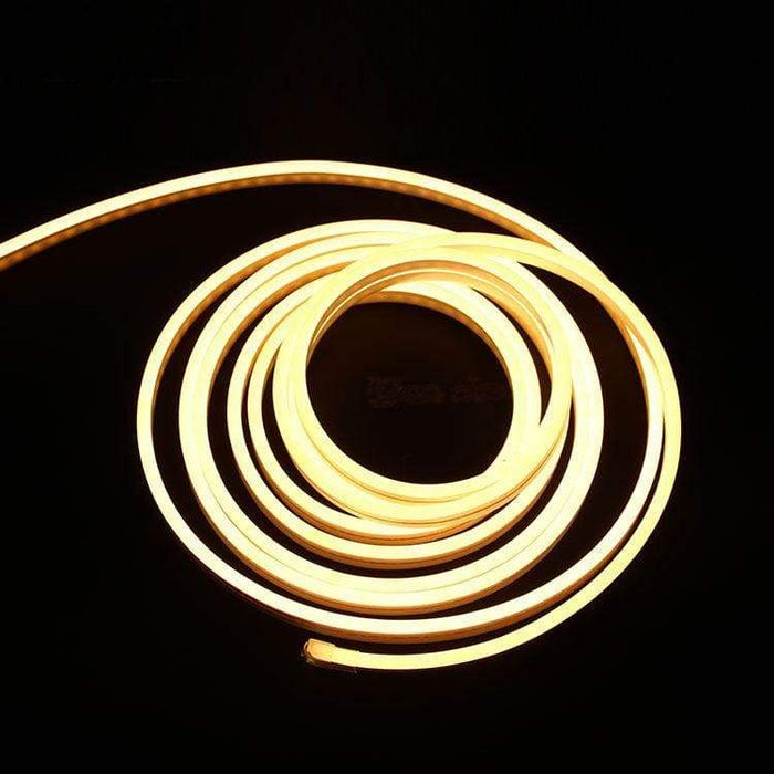Flexible Silicone Neon-Like LED Strip - 1 Meter - Warm White - LEDs