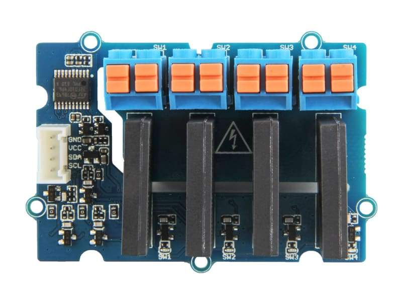 Grove - 4-Channel Solid State Relay - Active Components