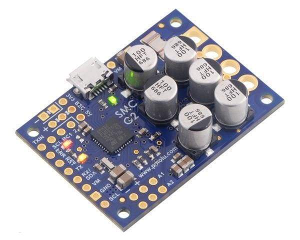 High-Power Simple Motor Controller G2 24V19 - Motion Controllers