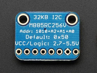I2C Non-Volatile Fram Breakout - 256Kbit / 32Kbyte (Id: 1895) - Active Components