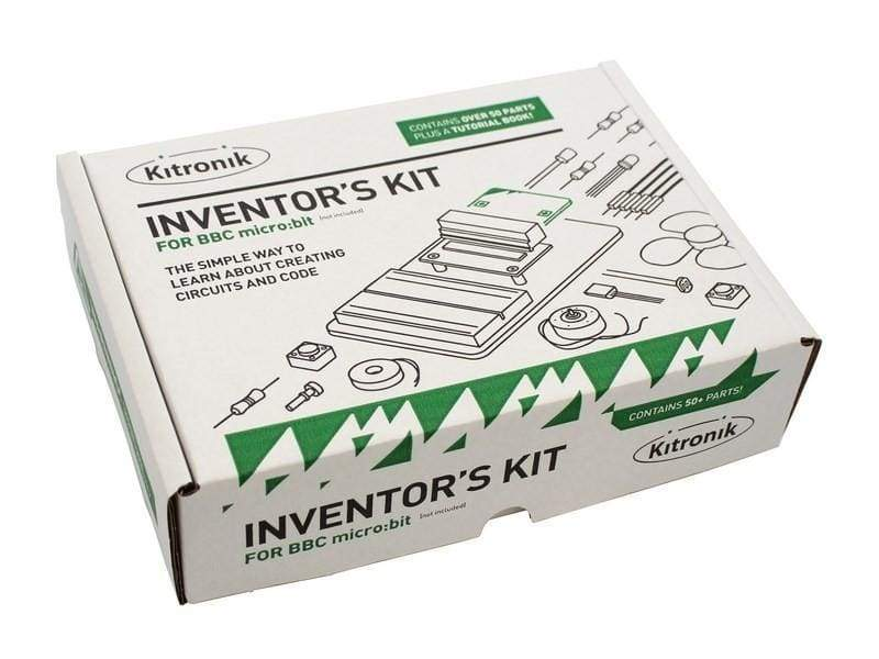 Inventors Kit For Bbc Micro:bit With 10 Experiments - Kits