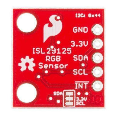 Isl29125 Rgb Light Sensor (Sen-12829) - Other