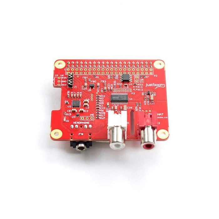 Justboom Dac Hat For The Raspberry Pi - Audio
