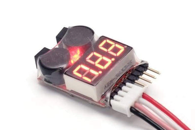 Lipo Battery Monitor 1-8S With Alarm - Accessories