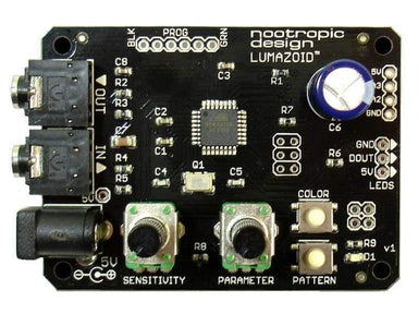 Lumazoid Realtime Music Visualizer Board - Audio