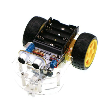 Motor:bit Acrylic Smart Car Kit (Without Micro:bit Board) - Kits