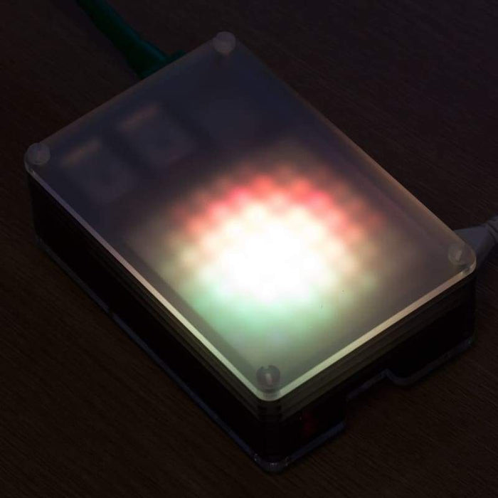 Pibow Modification Layers Frosted Diffuser - Raspberry Pi Enclosures