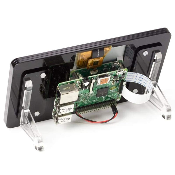 Pibow Touchscreen Frame - Noir (Black) - Raspberry Pi