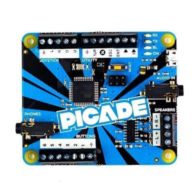 Picade Pcb - Arduino Compatible With 3W Amp - Raspberry Pi
