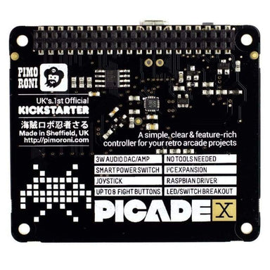 Picade X Hat - Raspberry Pi Boards