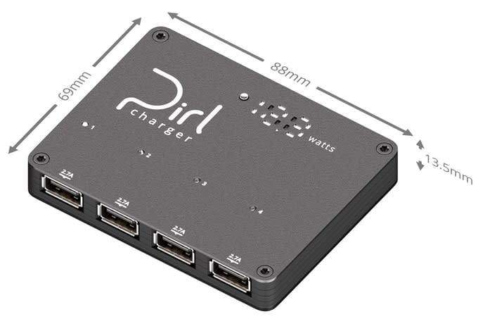 Pirl Charger - The 4-Port USB Charger - Chargers