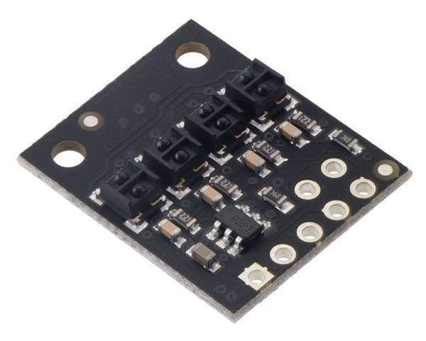 Qtrx-Hd-04Rc Reflectance Sensor Array: 4-Channel 4Mm Pitch Rc Output Low Current - Sensor