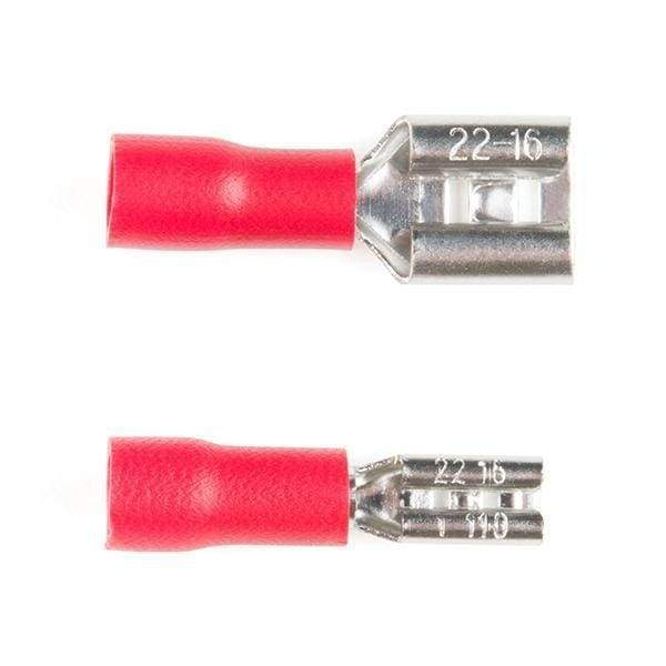 Quick Disconnects - Female 1/4 (Pack Of 5) (Prt-14407) - Connectors