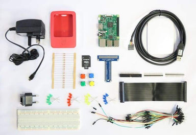 Raspberry Pi 3 Model B+ Electronics Kit - Raspberry Pi Kits