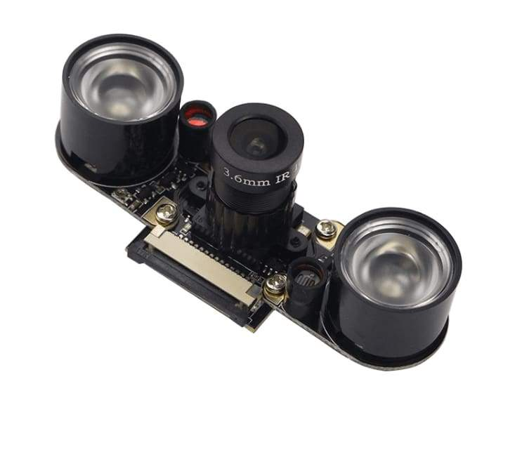 Raspberry Pi Camera - Night Vision - Focal Adjustable 5Mp Ov5647 - Cameras